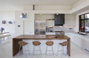 Decorazioni in bianco e legno all\'interno - Foto idee dei ...