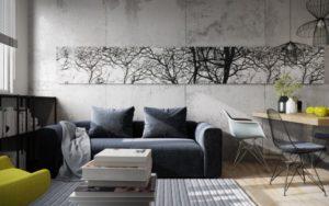 Idée Déco Salon Noir Et Blanc