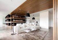 Deco bois et blanc a l'interieur