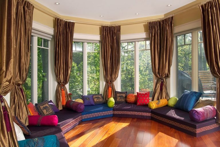 Oriental interior style: design and decoration features