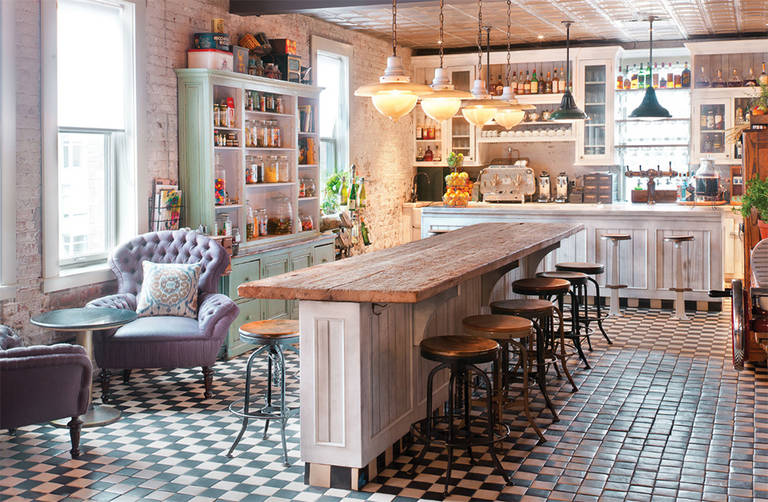 Kitchen in the shabby chic style: Renovation, decoration and interior design