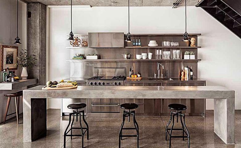 Loft kitchen: The secrets of the loft style + ideas of inspiration and realization