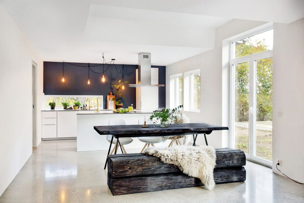 Kitchen in Scandinavian style, for those who prefer minimalism and comfort without compromise