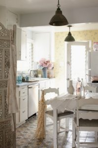 Shabby Chic Kitchen From Renovation To Decoration