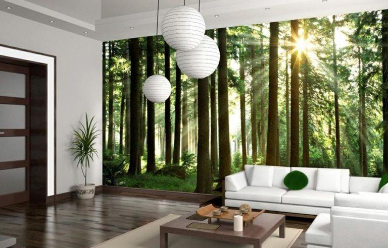 Papier peint panoramique nature
