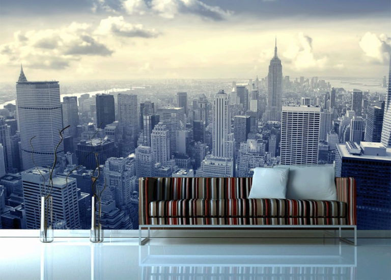Papier peint panoramique grande ville