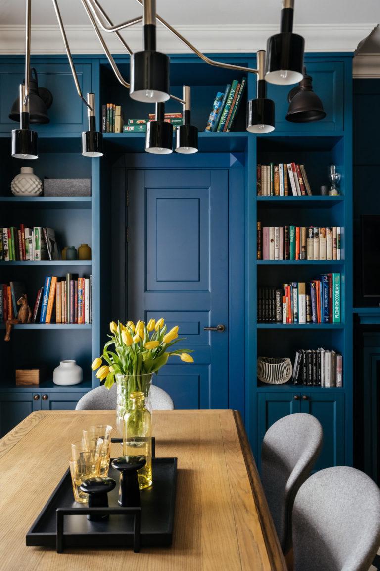 Faire un porte-portail - Mini bibliothèque dans un appartement