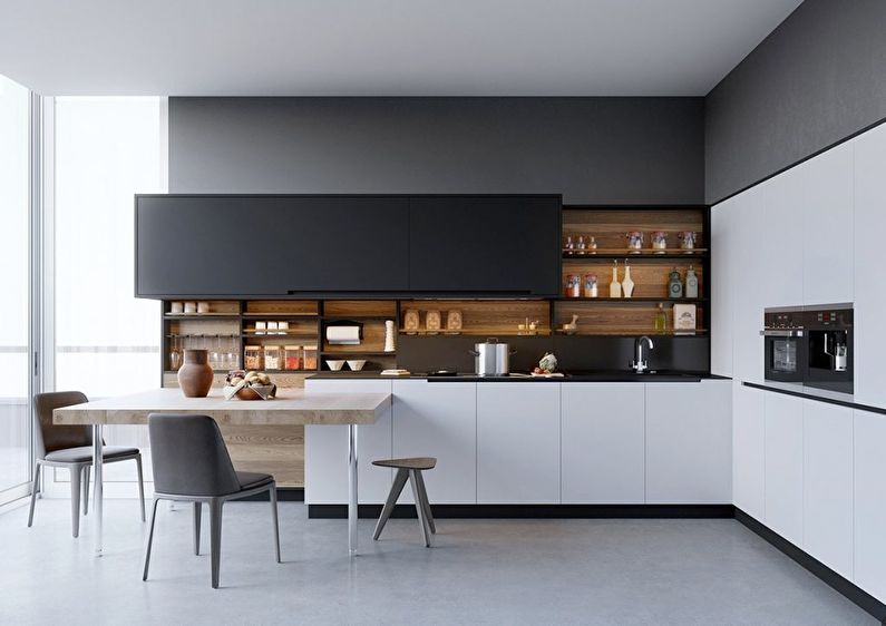 Modern kitchen: Design and decoration