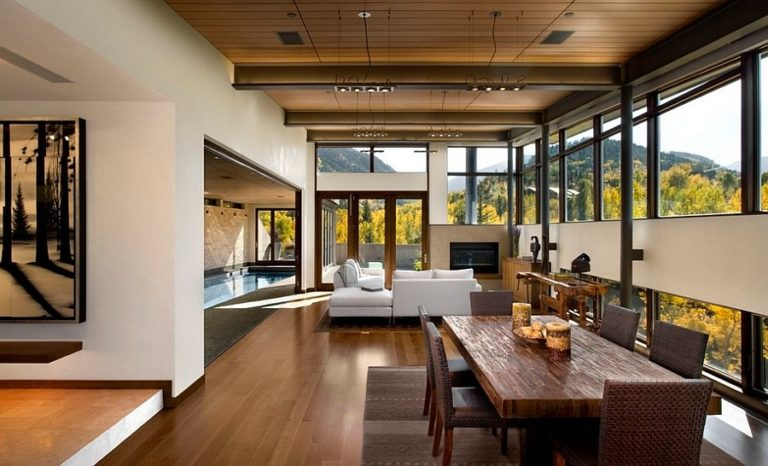 Modern Rustic Living Room A Spirit Of Tranquility And Peace