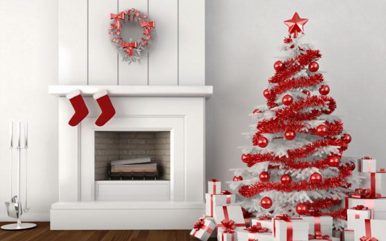 White Christmas Tree Decoration