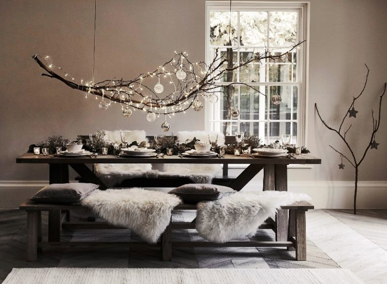 Célébrer le Noël avec un intérieur spectaculaire: Ajoutez de la luminosité et de la brillance à l'atmosphère familiale
