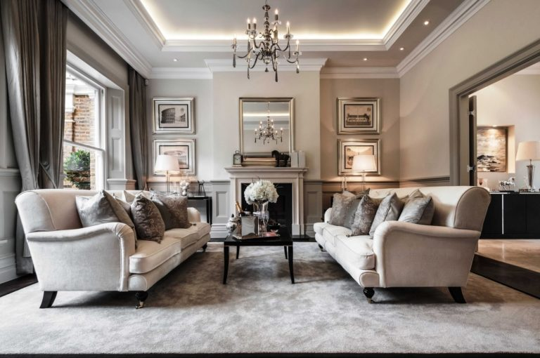 Design And Decoration Of The Living Room In Classic Style Photos And Product Ideas