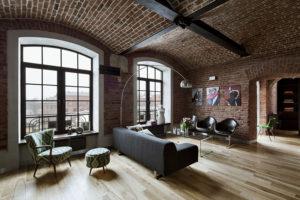 Loft-style living room: 100+ ideas for contemporary design ...