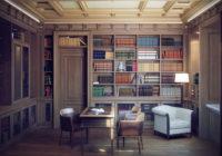 Mini bibliothèque dans un appartement: Idées de conception