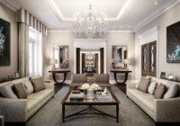 Salon de style Art déco: Conception et décoration