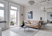 Salon de style minimaliste - Conception et Décoration