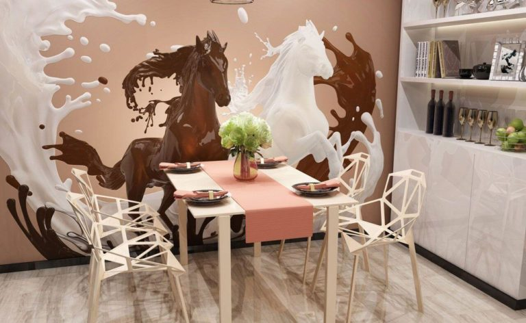 Wall Decoration Ideas With 3d Wallpaper