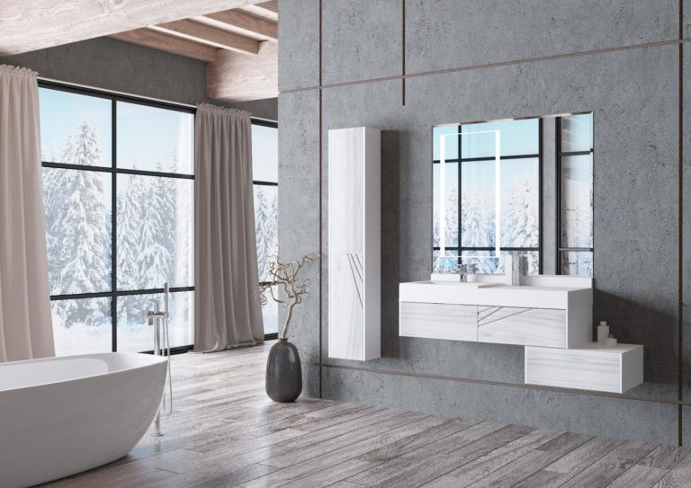 Armoire suspendue - Salle de bain 2020