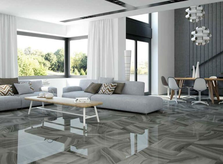 Tiles in the living room: +30 Practical ideas