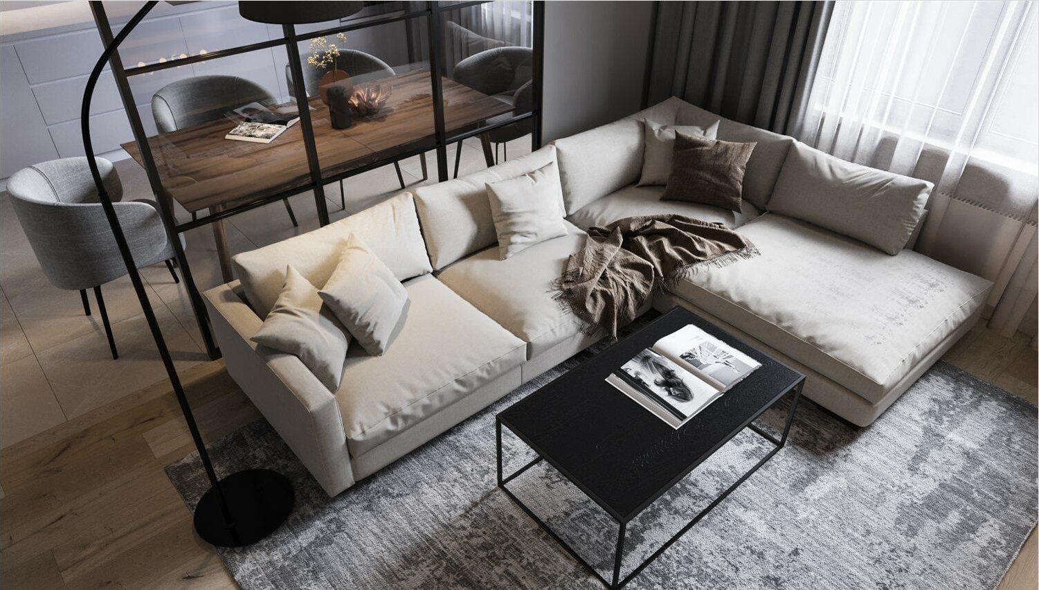 Sofa for a modern living room: selection guide and 50+ ideas