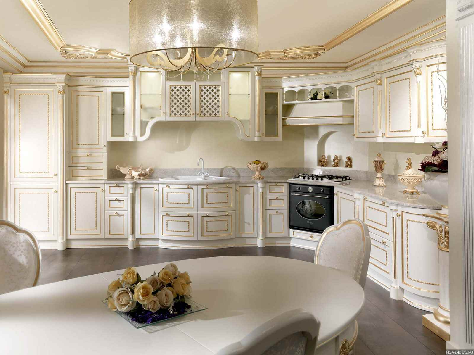 Classic style kitchen: Design and decoration