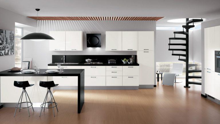 Minimalist kitchen: Design and decoration