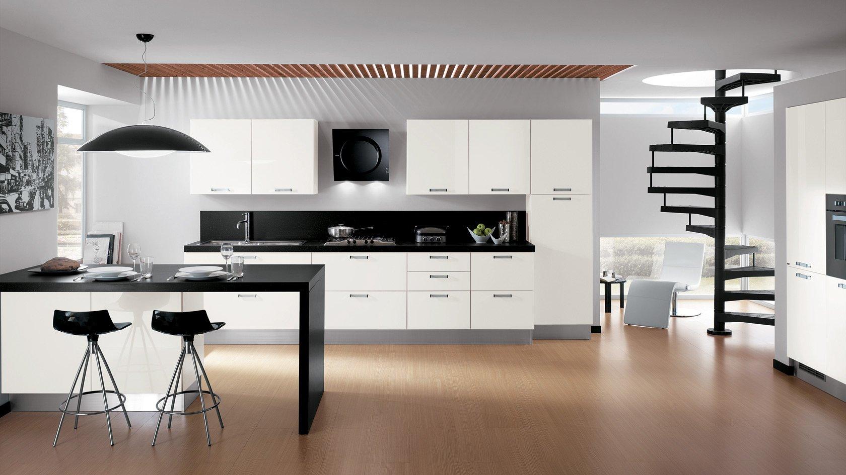 Cuisine design minimaliste: Conception et décoration