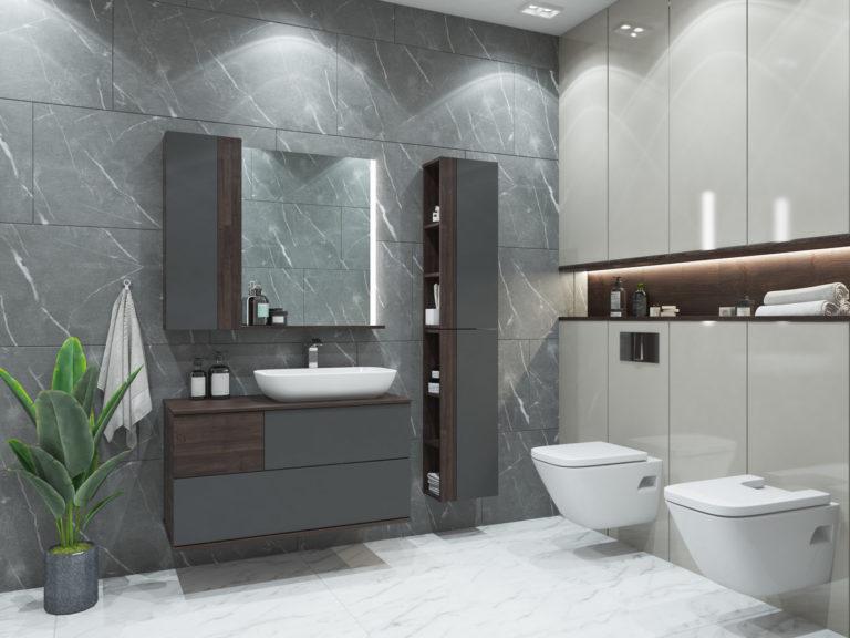 Façades lisses - Salle de bain 2020