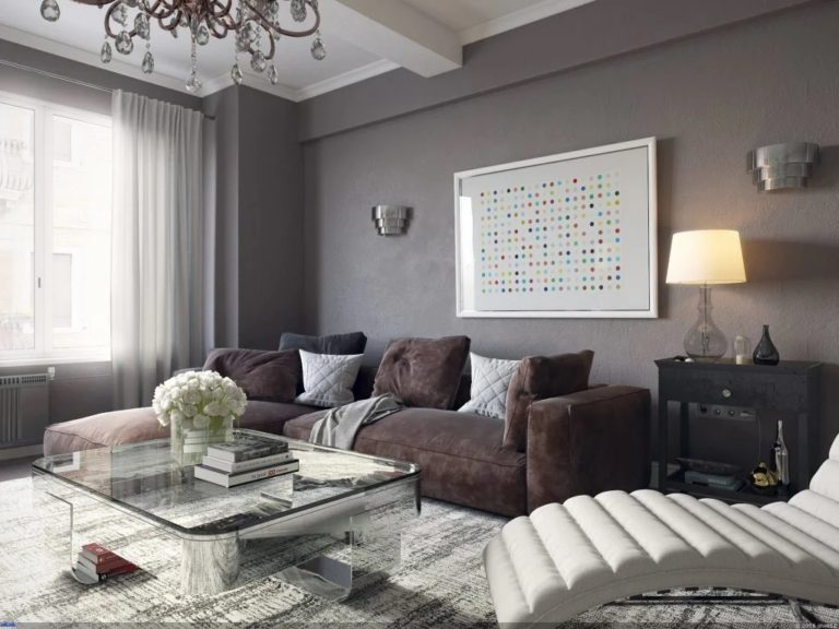 Design And Decoration Of A Taupe Gray Living Room 30 Photos