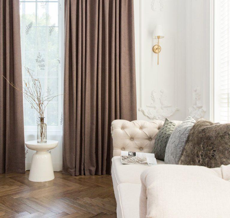 Come scegliere le tende per il soggiorno (salotto): 50+ idee