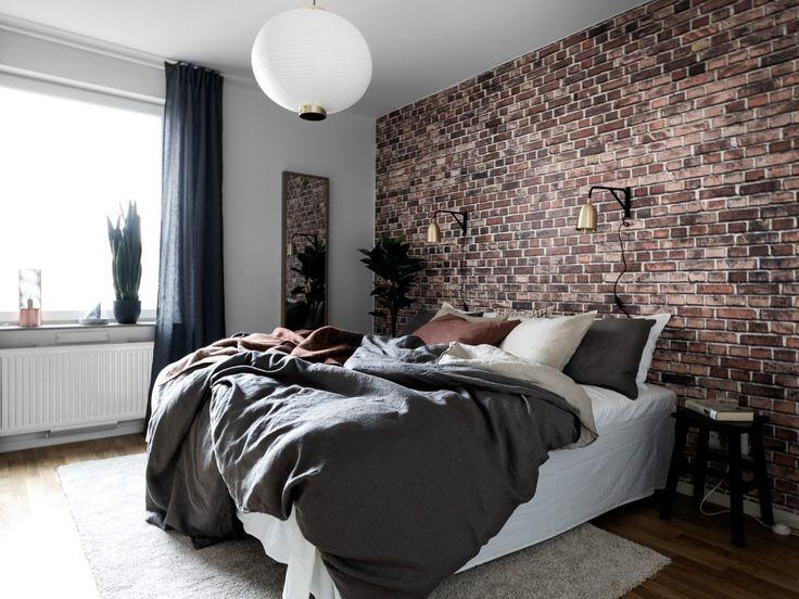 100 Fresh Trendy Wall Decor Ideas With Brick Wallpaper