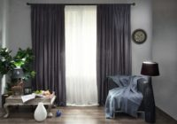 Gray curtains - an elegant solution for any interior