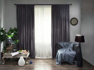 Rideaux gris – une solution élégante pour tout intérieur
