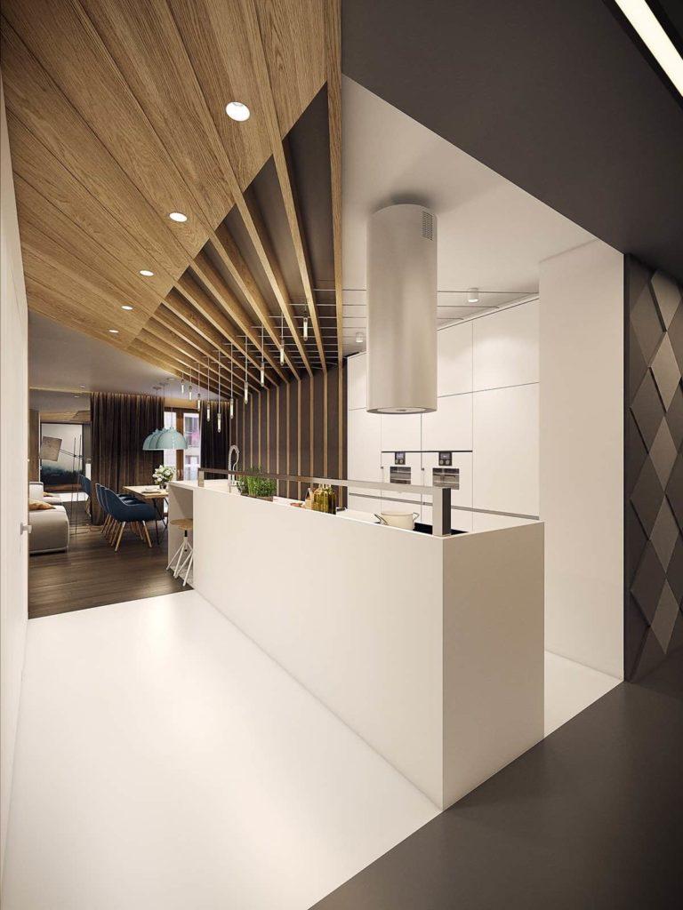 Quel Luminaire Pour Plafond Avec Poutre beau design de plafond 2020 - nouveaut�s et tendances (photo)