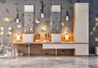 Carrelage céramique 2020: TOP tendances de la mode en design d'intérieur