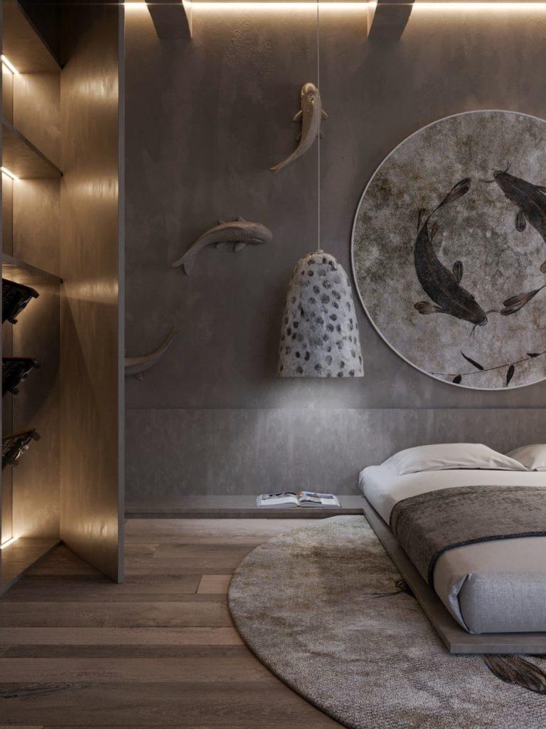 Decoration Murale Pour Tete De Lit chambre 2020: tendances de design et décoration (50+ photos)