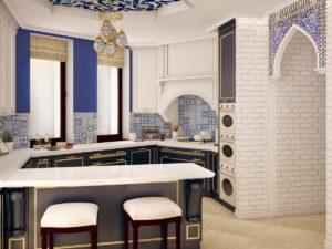 Everyday luxury: oriental style kitchen