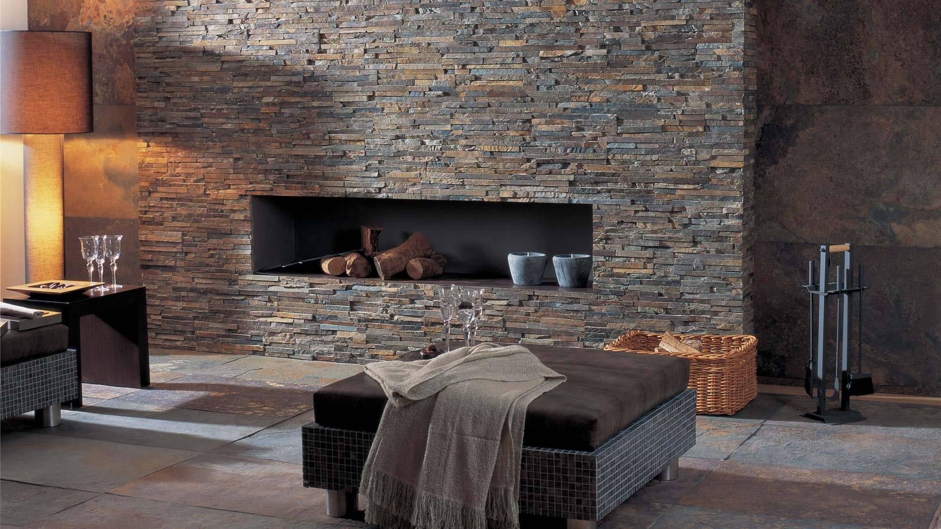 Pietra decorativa: idee di design per pareti