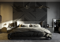 Modern bedroom: Design and decoration