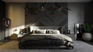 Modern bedroom: Design and decoration