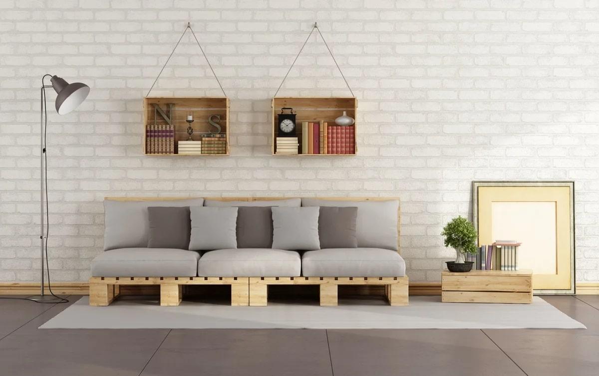 Meuble en palette: idées pour la décoration intérieure