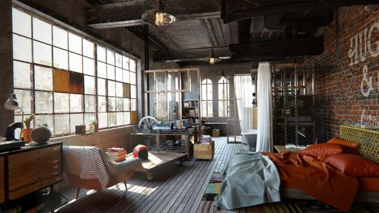Industrial Lighting Overview Of Lighting Options For Loft Interiors