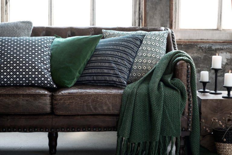 Textiles 2020: les principales tendances pour l'intérieur des maisons