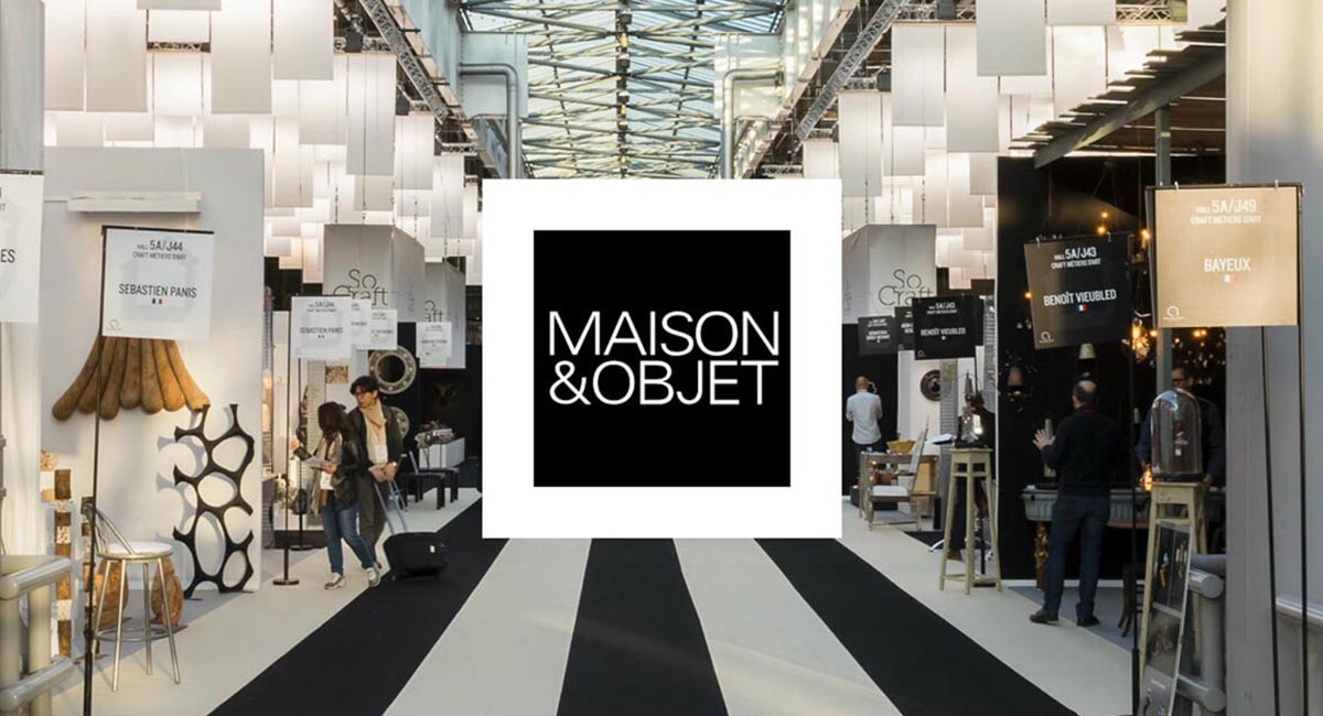 What global brands showed at Maison & Objet 2020 exhibition