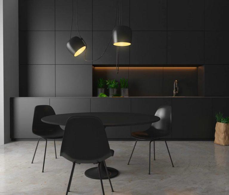Black kitchen design ideas