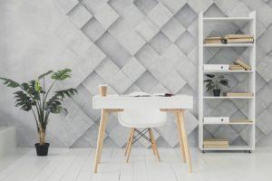 Bureau à l'intérieur: conseils pour choisir