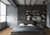 Interior with gray wallpaper: how to make grayness exquisite