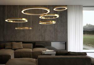 Lampadari moderni: design, stili e tipi