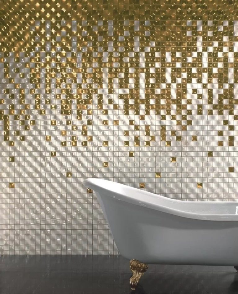 Bathroom mosaic tiles: design, style and choices