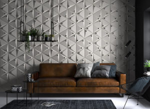 3D wall panels: features, types, and design ideas